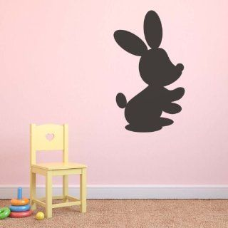 Bunny Repositionable Chalkboard Childrens Bedroom Kids Playroom Wall Sticker   Childrens Dry Erase Boards