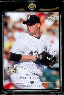 2008 Upper Deck # 338 Heath Phillips (RC) White Sox   MLB Rookie Baseball Trading Card Sports Collectibles