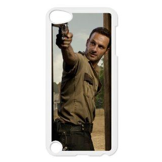 LVCPA Stylish The Walking Dead Printed Hard Plastic Case Cover for Ipod Touch 5 (6.21)CPCTP_343_10   Players & Accessories