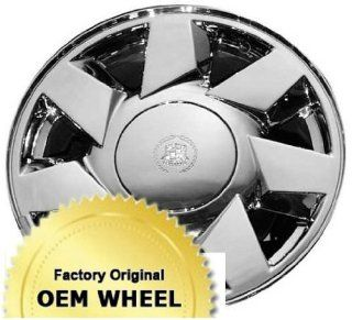 CADILLAC DEVILLE,DTS 17x7.5 7 SPOKE Factory Oem Wheel Rim  CHROME   Remanufactured Automotive