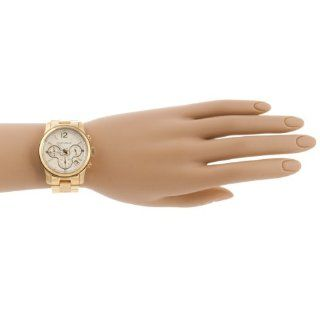 Republic Womens Stainless Steel Chronograph Watch, Gold Watches