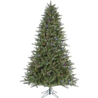 "Vickerman 30864   5.5' x 40"" Kennedy Fir 350 Multi Color Italian LED Lights Christmas Tree (A138257LED)"