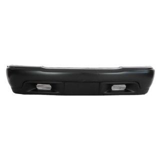 CarPartsDepot, Front Bumper Facial Cover Primed w/o Fog Hole 2WD Replacement, 352 19669 10 GM1000557 12377119 Automotive