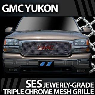 2000 2006 GMC Yukon SES Chrome Mesh Grille Automotive