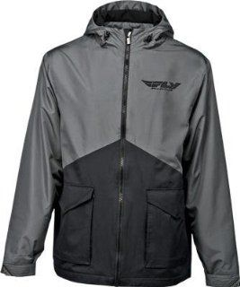 Fly Racing Fly14 Pit Jacket , Gender Mens/Unisex, Primary Color Black, Size Md, Distinct Name Black 354 6150M Automotive