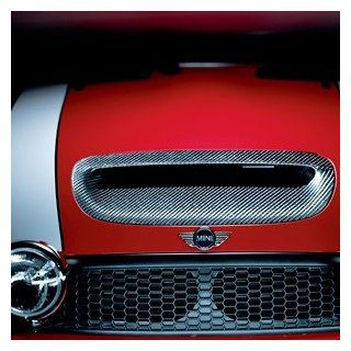 MINI Cooper S Genuine Factory OEM 51130395502 Carbon Fiber Bonnet Scoop 2002   2006 2004 2008 Convertible S Automotive