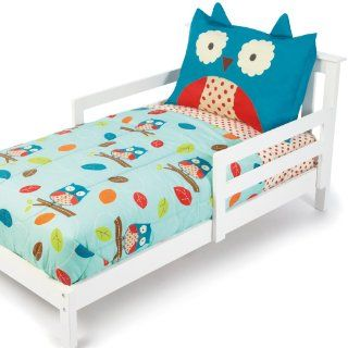 Skip Hop 4 Piece Toddler Bedding Set, Owl Baby