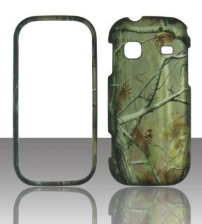 2D Camo Realtree Samsung Gravity TXT T379 T Mobile Case Cover Hard Phone Case Snap on Cover Rubberized Touch Protector Faceplates Cell Phones & Accessories