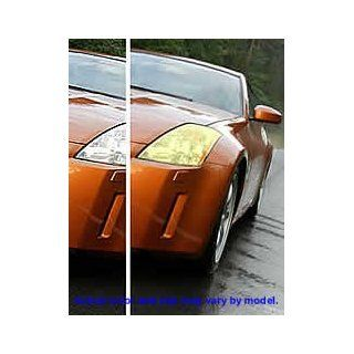 Ford Mustang fog light cover film euro yellow 99 04 Ford Mustang fog light euro yellow cover film   Ford Mustang   GT foglight deflector shields Automotive