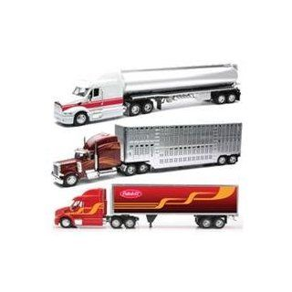 New Ray Toys 132 Scale Die Cast Peterbilt 387/379 Tanker/Container Truck Assortment 2 Each 3 Pack Of 6 Pcs