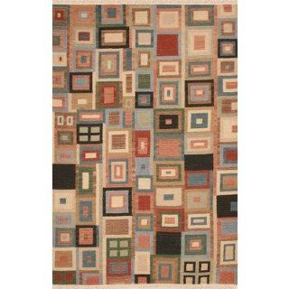 Rizzy Rugs SG 389 Swing SG 389 Multi Area Bubblerary Rug Size 5' x 8'