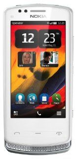 Nokia 700 Unlocked GSM Phone with Touchscreen, 5 MP Camera, Symbian Belle OS, and NFC  U.S. Warranty (White) Cell Phones & Accessories
