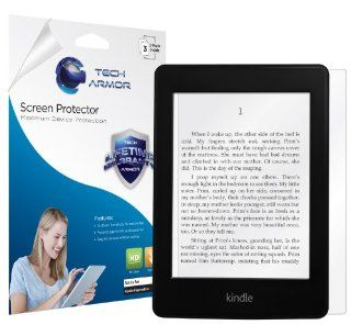 Tech Armor New Kindle Paperwhite/Original Kindle Paperwhite Premium High Definition (HD) Clear Screen Protector with Lifetime Replacement Warranty [3 Pack]   Retail Packaging Kindle Store
