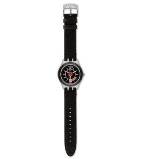 Swatch Irony In a Vibrant Mode Black Dial Men's watch #YTS402 Swatch Watches