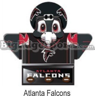 "Atlanta Falcons 18"" Mascot Bookshelf   NFL Football  Office Desk Accessories  Sports & Outdoors"