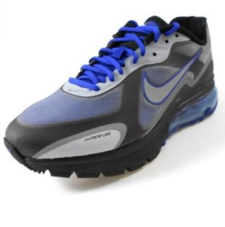 Nike Air Max Alpha 2011+ Mens Running Shoe [454347 401] Drenched Blue/Metallic Silver Black Mens Shoes 454347 401 7.5 Shoes