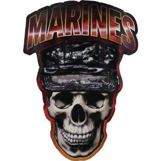 U.S. Marine Corps Skull Digital Decal
