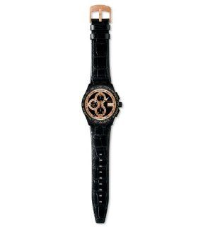 Swatch Right Track Sunset Black Dial Men's Watch #SVGB402 Swatch Watches