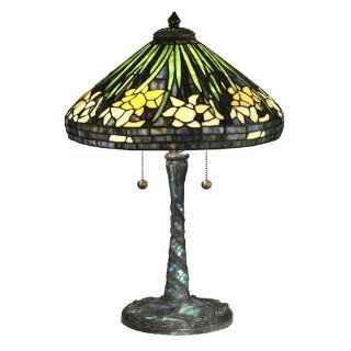 Dale Tiffany Daffodil Table Lamp