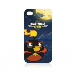 Gear4 Angry Birds Space Iphone 4/4S Case Fire Bomb Bird ICAS405G Cell Phones & Accessories