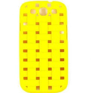 For Samsung Galaxy S Iii I747 Yellow Net Design Accessories Case Cell Phones & Accessories