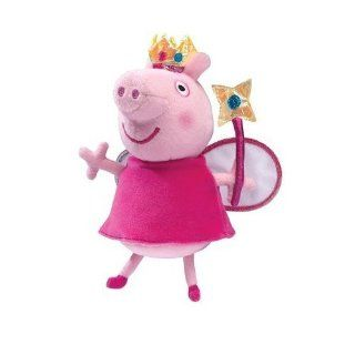 Peppa Pig Beanie Oinking Princess Fairy Peppa Toys & Games