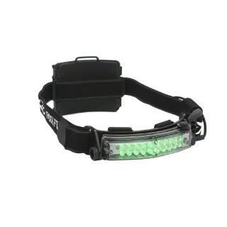 FoxFury 420 014 Command 20 Hunting Green LED Helmet Light with Elastic Strap, 50 Lumens