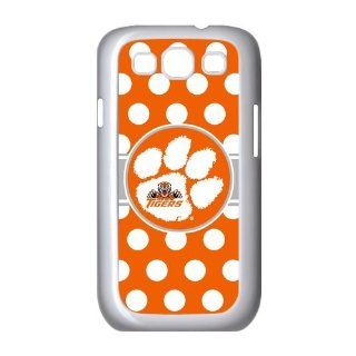 Clemson Tigers Samsung Galaxy S3 I9300/I9308/I939 Case NCAA Clemson University Tigers Orange Cool Tiger Paw Logo Cases Cover at abcabcbig store Cell Phones & Accessories