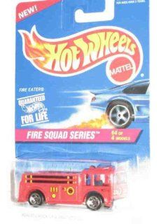 Fire Squad Series #4 Fire Eater 5 Spoke Wheels #427 Collectible Collector Car Mattel Hot Wheels 164 Scale Toys & Games