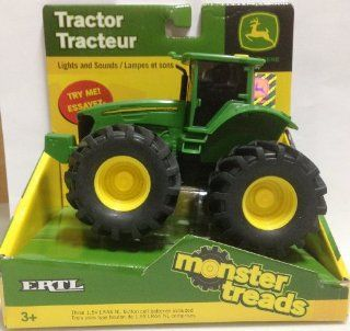 ERTL John Deere Lights and Sounds 6 Inch Monster Treads Vehicle   Tractor Toys & Games