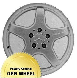 MERCEDES CLK430,CLK500,CLK CLASS 17x7.5 5 SPOKE Factory Oem Wheel Rim  MACHINE LIP SILVER   Remanufactured Automotive