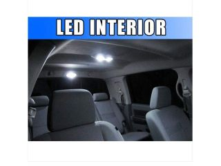 Complete Premium LED Interior 8pc Kit for Dodge Nitro 2007 2010