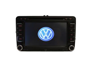 Volkswagen Golf 2009 2012 K Series Multimedia In Dash Double Din Touchscreen GPS Navigation Radio iPod USB AUX CD DVD SD