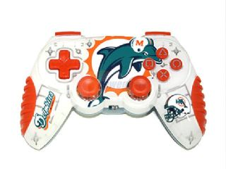 Mad Catz Officially Licensed Miami Dolphins NFL Wireless PS2 Controller