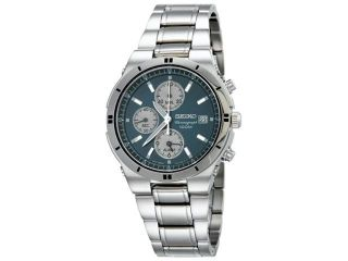 Seiko Alarm Chronograph Mens Watch SNA695