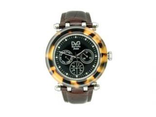 D&G Dolce & Gabbana Jesse J Multifunction Black Dial Men's watch #DW0573