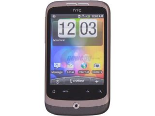 HTC Desire A Brown Android 2.2 Touch Screen 5.0 MP Camera Unlocked GSM Smart Phone