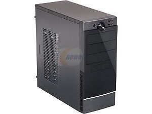 Rosewill FB 04 Dual Fans ATX Mid Tower Computer Case, come with 1x Front 120mm Fan, 1x Rear 80mm Fan