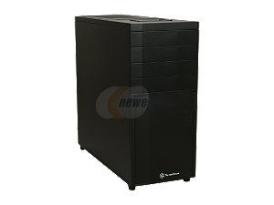 SilverStone Kublai Series SST KL04B Black Plastic front panel, steel body ATX Mid Tower Computer Case