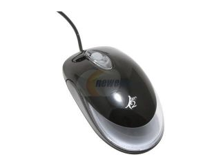 POWMAX MULTI COLOR LED MSUPCH BK Black  Mouse