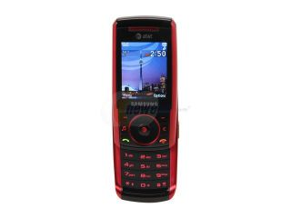 Samsung SGH a737 Black/Red 3G Unlocked GSM Slider Phone with 1.3 MP Camera