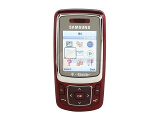 Samsung SGH t239 Red Unlocked GSM Slider Phone with Camera