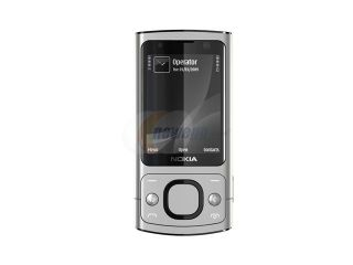 Nokia 6700 Slide Silver 3G Unlocked GSM Slider Phone with 5.0MP Camera