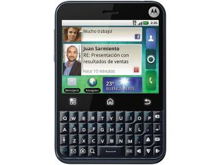 Motorola CHARM Dark Sapphire 3G Unlocked GSM Phone w/ Android 2.1 / 3.2 MP Camera / Wi Fi (MB502)