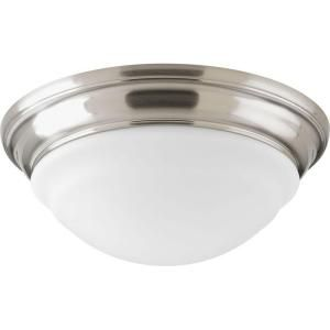Progress Lighting 1 Light LED Brushed Nickel Flush Mount P2300 09ET30K