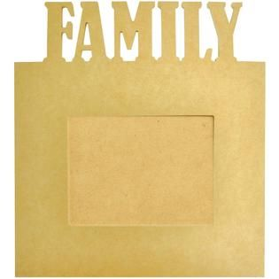 Beyond The Page MDF Family Frame 13.5X15X.5, 5.5X7.5 Opening