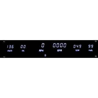 Intellitronix Digital 5 Gauge Dash Panel Kit (Universal