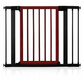 tall x 34 40 wide, Black) Emperor Rings Pressure Mounted Dog Gate